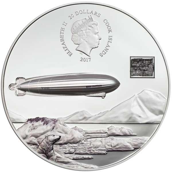 CIT 2017 Graf Zeppelin 100th Anniversary 3oz Silver Coin