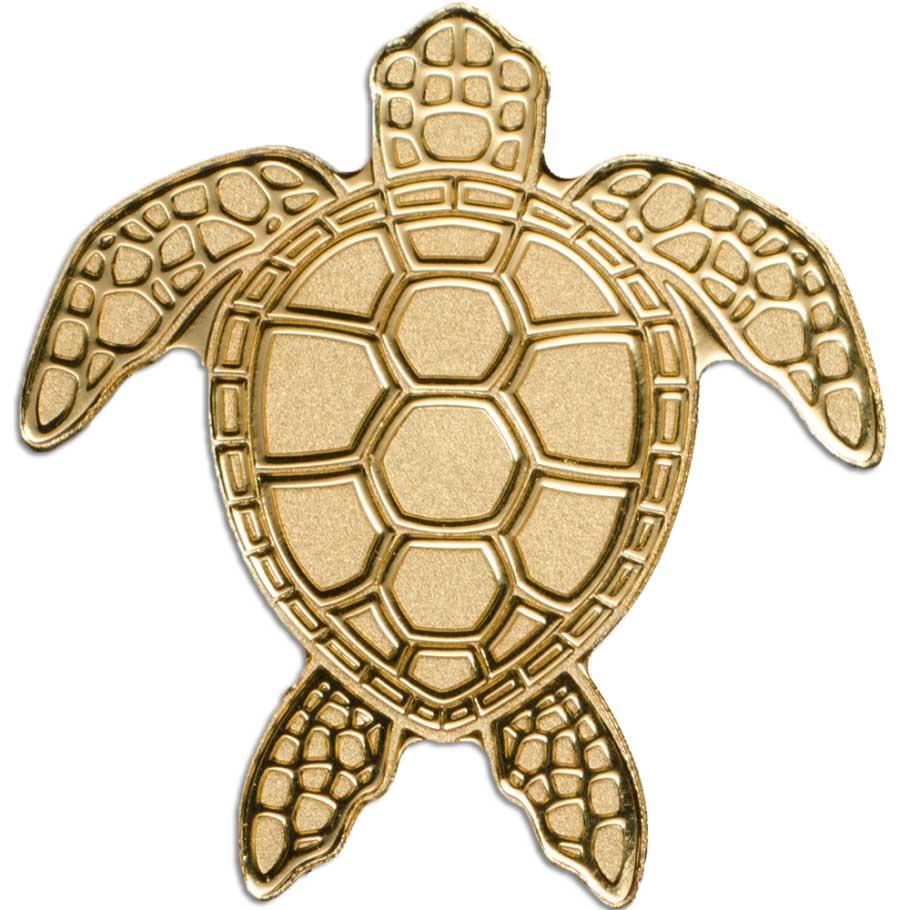 CIT 2017 Sea Turtle Palau 0.5g MiniGold