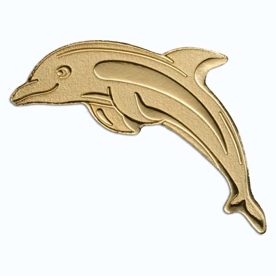 CIT 2017 Dolphin Palau 0.5g Gold