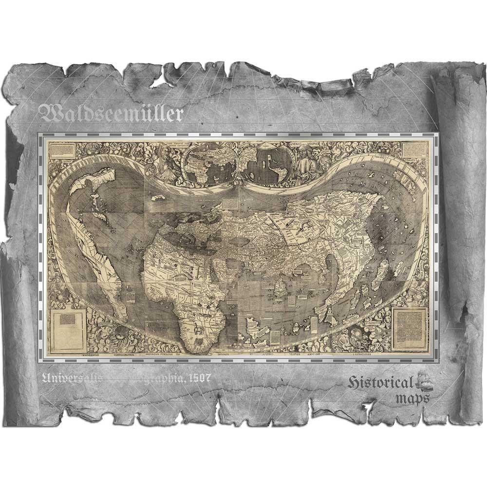 CIT 2018 Waldseemüller – Historical Maps 30g Silver
