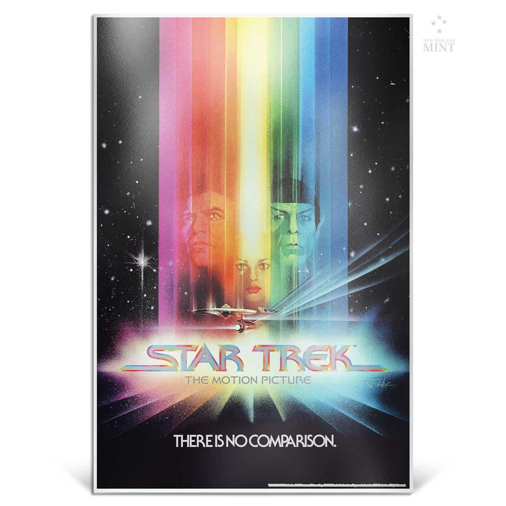 STAR TREK: THE MOTION PICTURE 2018 35g silver foil