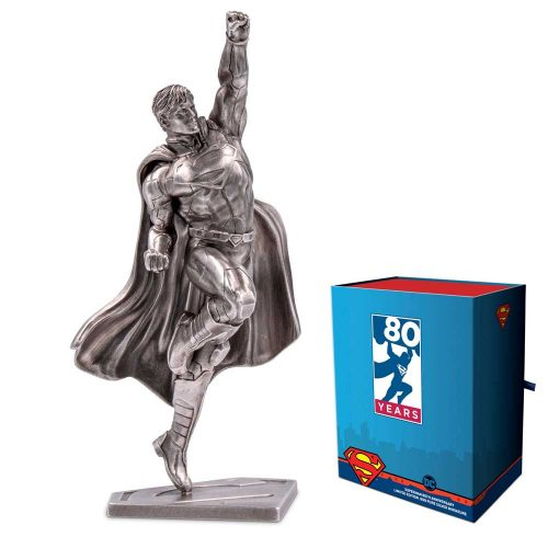 Superman 80th Anniversary 150g Silver Miniature