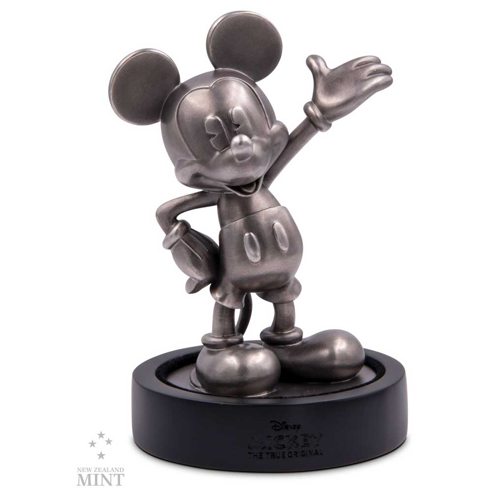 Mickey Mouse 90th Anniversary 2018, 150g silver miniature