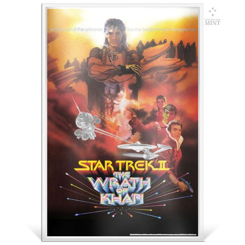 STAR TREK II: THE WRATH OF KHAN 2018 35g silver foil