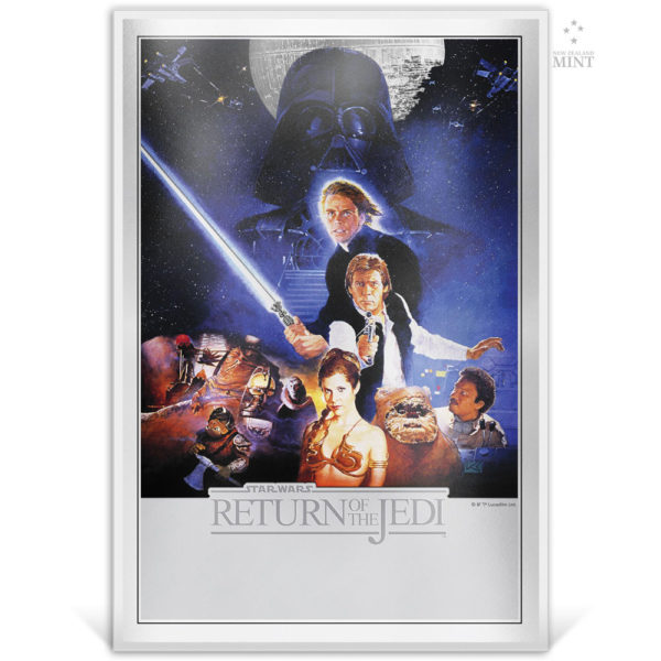 STAR WARS: Return of the Jedi 2018 35g silver foil