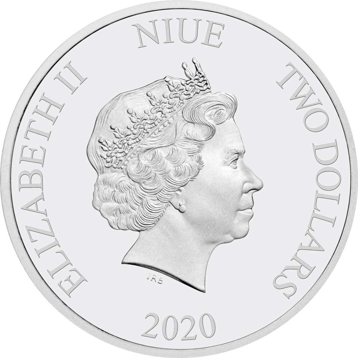 BATMAN 1966 BATMAN /& PENGUIN 2020 Niue 2x 1oz silver coin