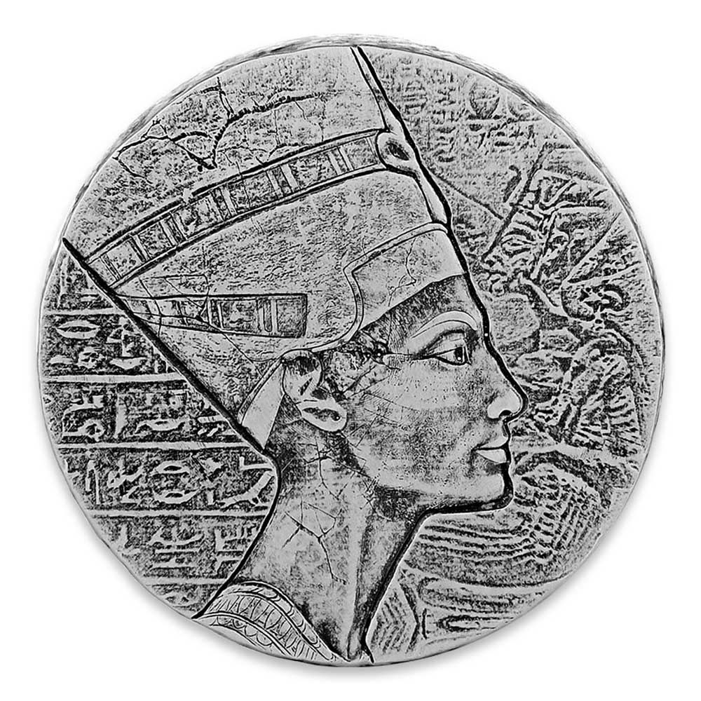EGYPTIAN RELICS SERIES 2017 Nefertiti 5oz silver