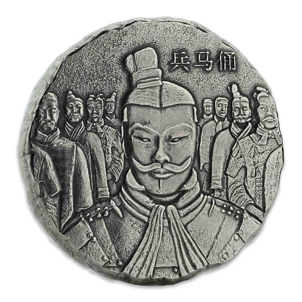 TERRACOTTA ARMY SERIES 2018 Qin Shi Huang 5oz silver