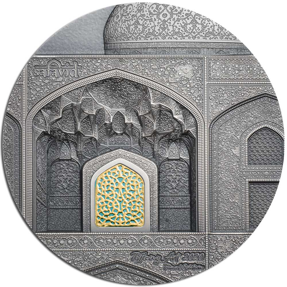 TIFFANY ART SAFAVID 2020 Palau 2oz silver coin