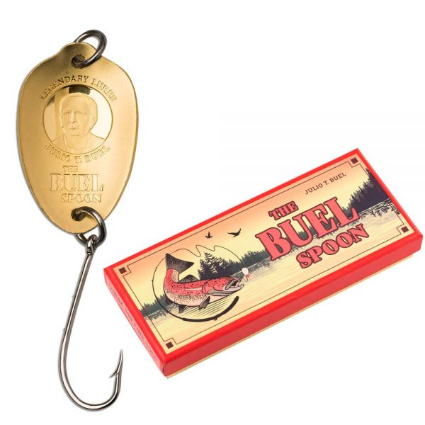 THE BUEL SPOON – LEGENDARY LURES 2020 Cook Islands 1/10oz gold coin