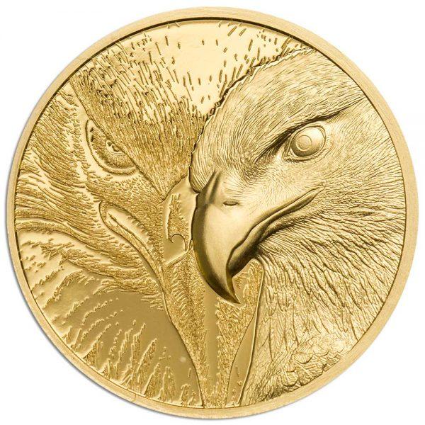MAJESTIC EAGLE 2020 Mongolia 1/10oz proof gold coin