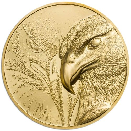MAJESTIC EAGLE 2020 Mongolia 1oz proof gold coin