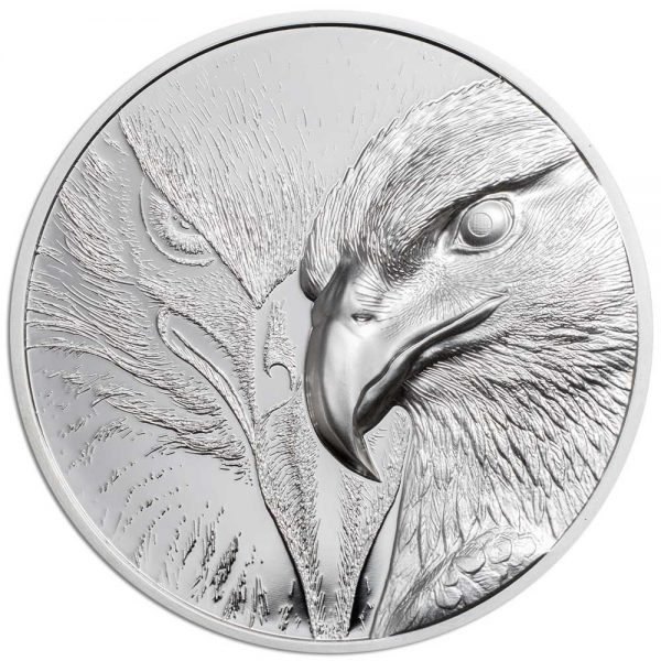 MAJESTIC EAGLE 2020 Mongolia 1oz proof silver coin