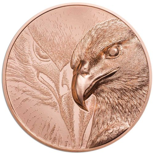 MAJESTIC EAGLE 2020 Mongolia 50g proof copper coin