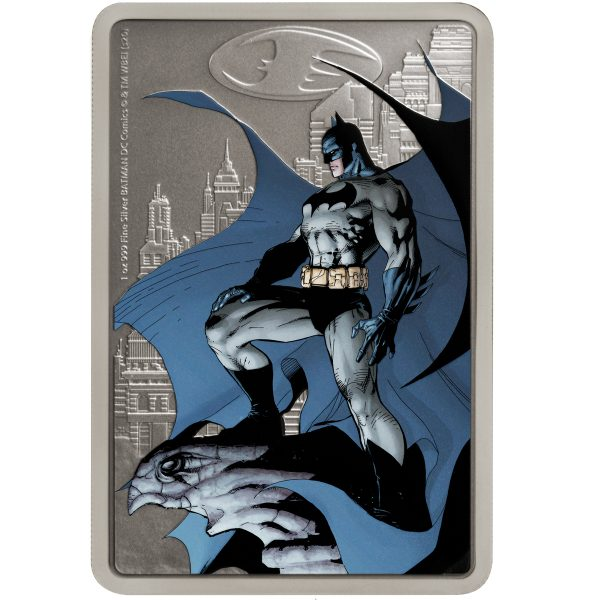 BATMAN HUSH: GOTHAM CITY 2020 Niue $2 silver coin