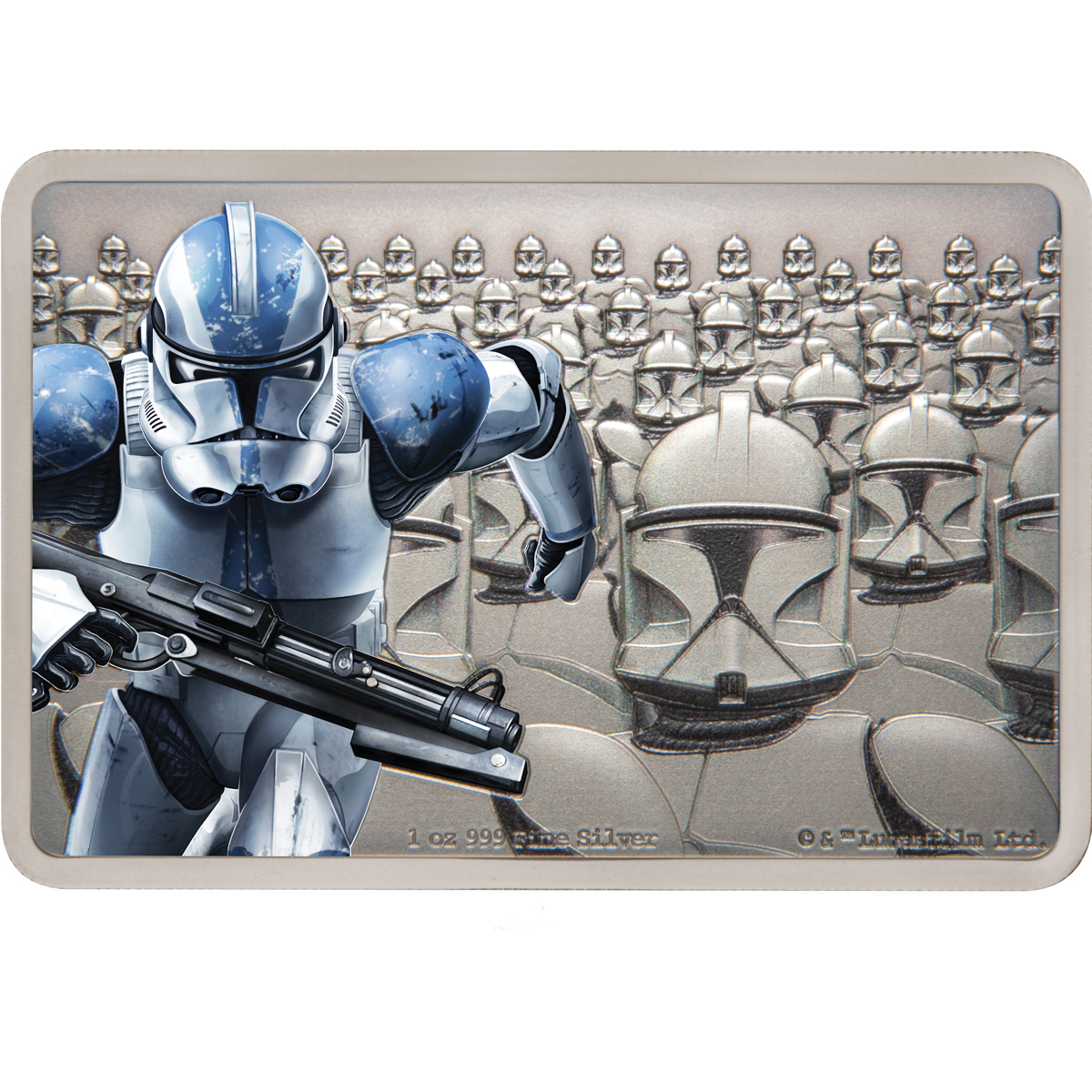 STAR WARS GUARDS OF THE EMPIRE: CLONETROOPER 2020 Niue silver coin