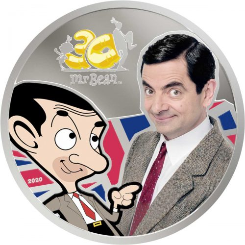 Mr BEAN - 30th ANNIVERSARY 2020 Cook Islands 1oz silver coin
