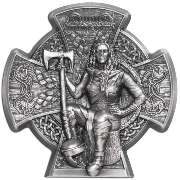 BOUDICA – WARRIOR QUEEN 2020 3oz silver