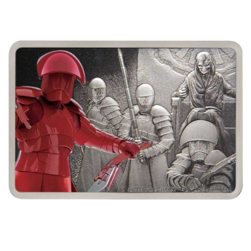 STAR WARS GUARDS OF THE EMPIRE: PRAETORIAN GUARD 2020 Niue silver coin