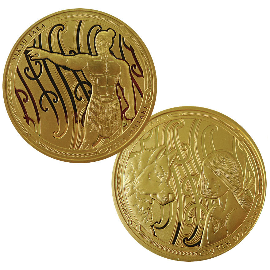 MAUI AND THE FIRST DOG - 2020 Gold Coin Set