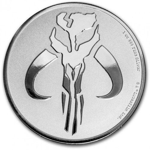 MANDALORIAN MYTHOSAUR 2020 Niue 1oz silver bullion coin
