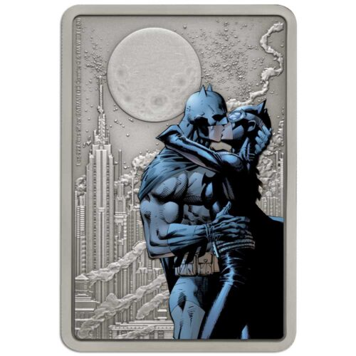 BATMAN HUSH: THE KISS 2020 Niue $2 silver coin