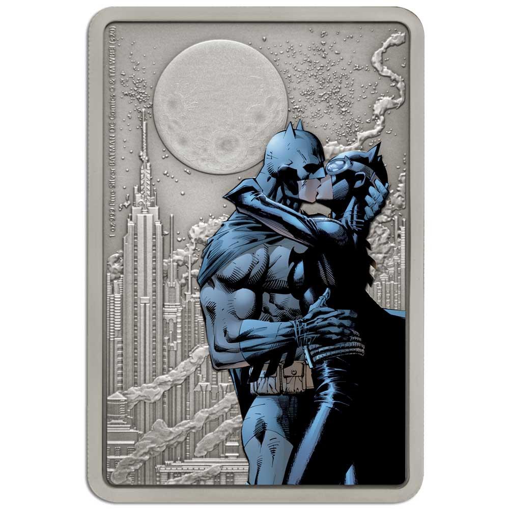 BATMAN HUSH: THE KISS 2020 Niue $2 silver coin