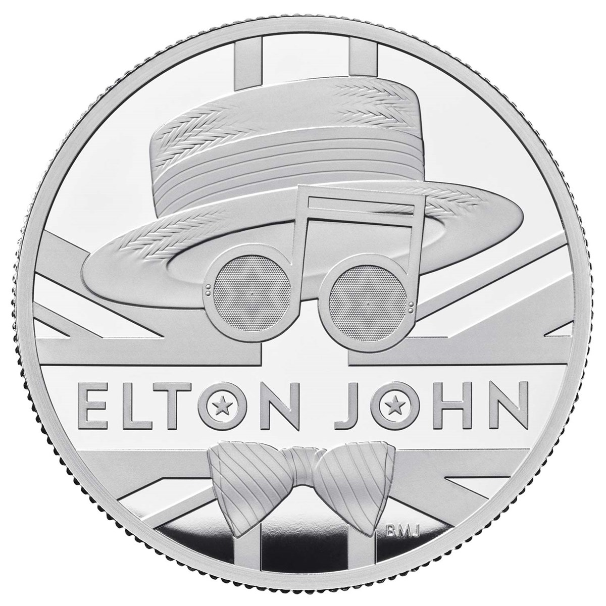 ELTON JOHN 2020 UK two ounce silver proof coin