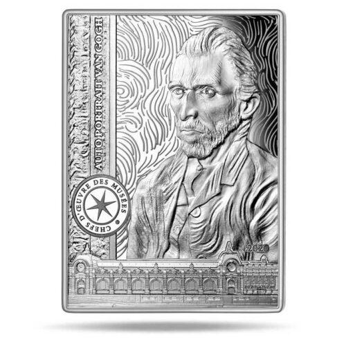 SELF PORTRAIT - VAN GOGH 2020 10€ silver proof coin
