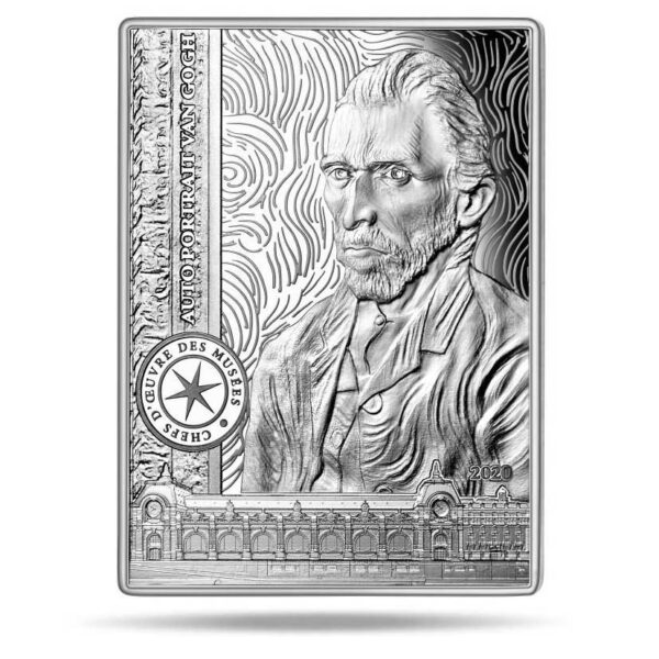 SELF PORTRAIT - VAN GOGH 2020 10€ silver proof coin