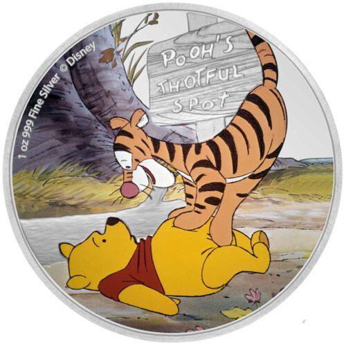 WINNIE THE POOH - POOH & TIGGER 2020 Niue 1oz silver coin