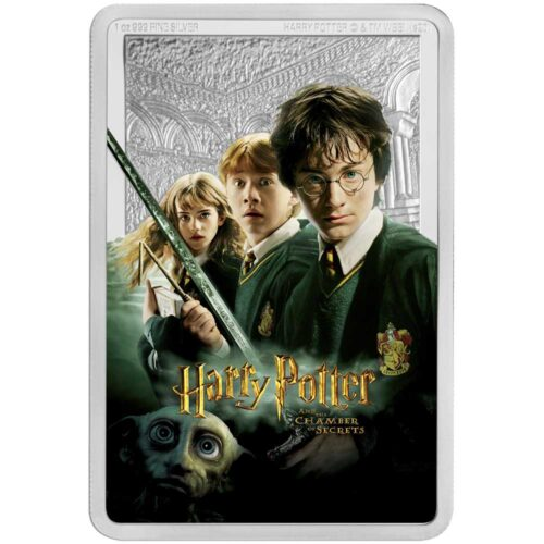 HARRY POTTER & THE CHAMBER OF SECRETS 2020 Niue 1oz silver poster coin