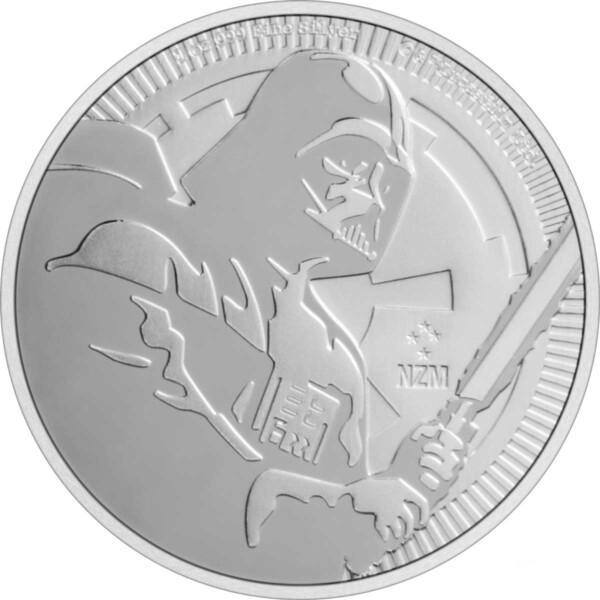 DARTH VADER 2020 Niue 1oz silver bullion coin