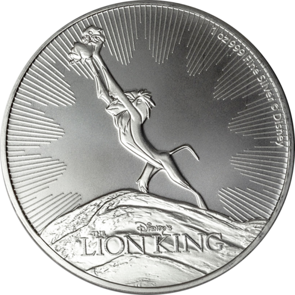 LION KING: 2020 Niue 1oz silver