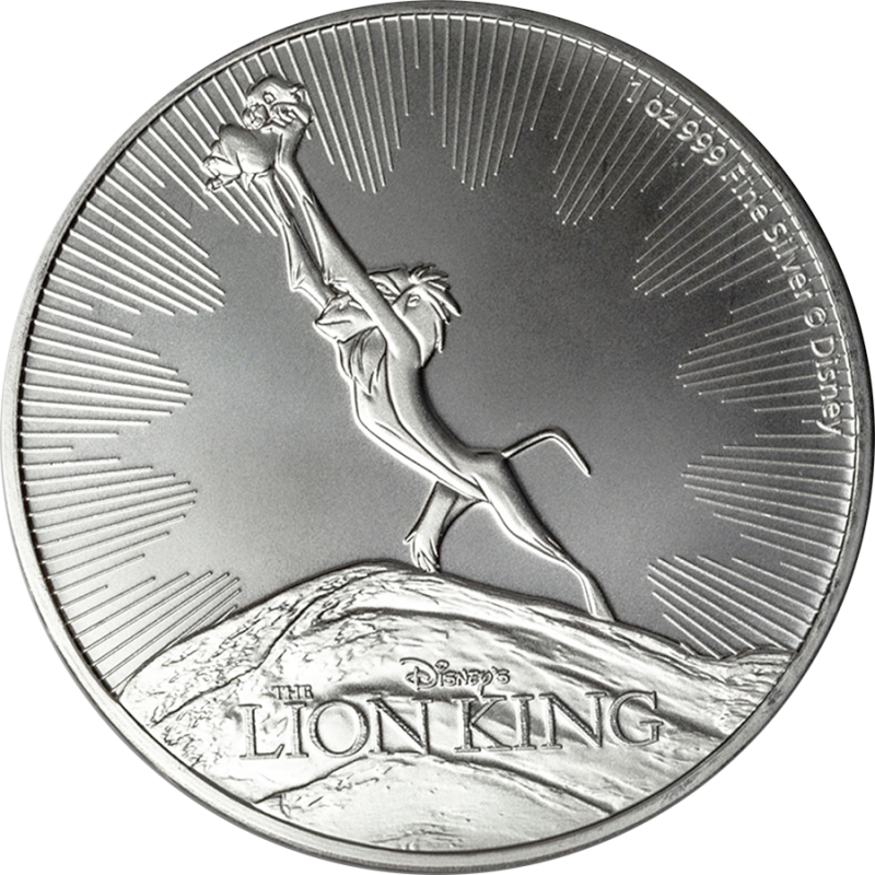 LION KING: 2020 Niue 1oz silver bullion coin