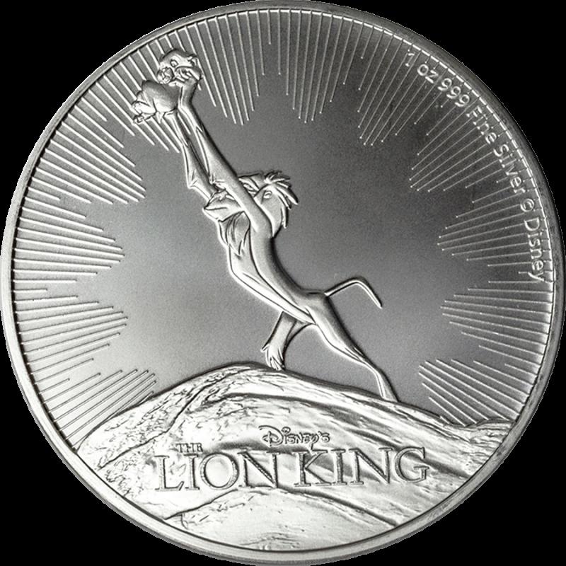 LION KING: 2020 Niue 1oz silver