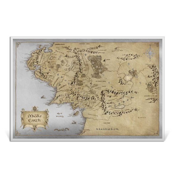 LORD OF THE RINGS: MIDDLE EARTH™ 2021 Niue 35g silver foil