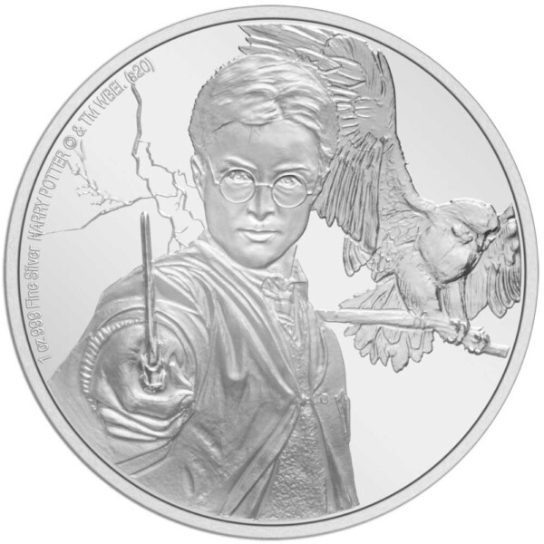 HARRY POTTER: HARRY POTTER 2020 Niue 1oz silver coin