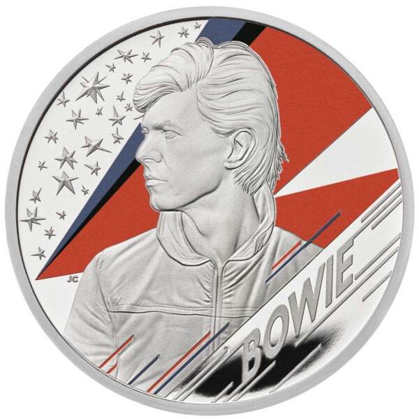 DAVID BOWIE 2020 UK one ounce silver proof coin
