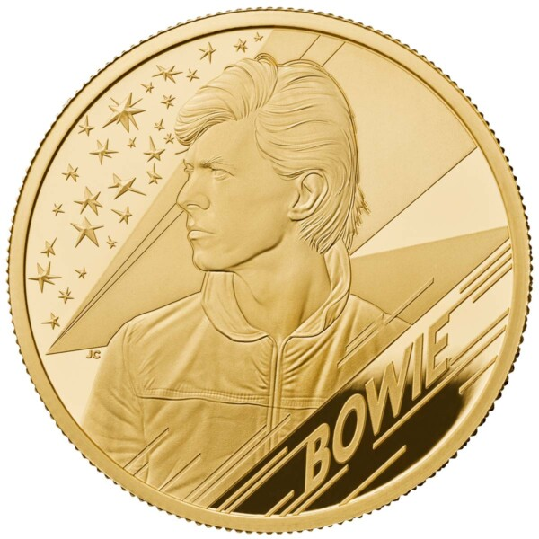 DAVID BOWIE 2020 UK Quarter Ounce Gold Proof Coin
