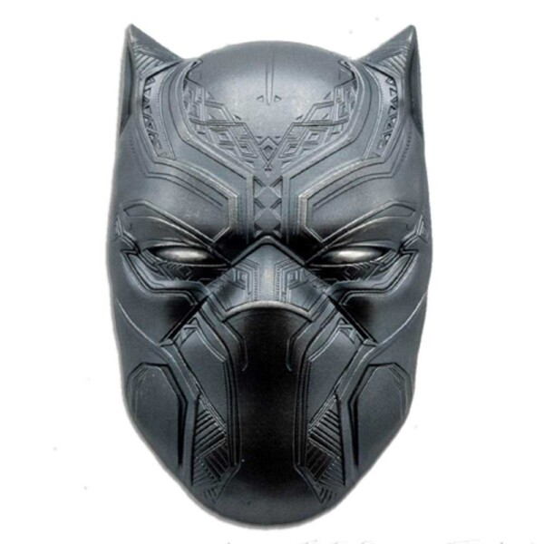 BLACK PANTHER MASK 2021 Fiji 2oz high relief silver coin