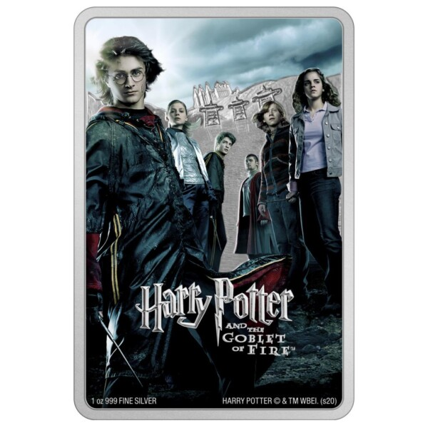 HARRY POTTER - AND THE GOBLET OF FIRE 2020 Niue 1oz silver poster coin