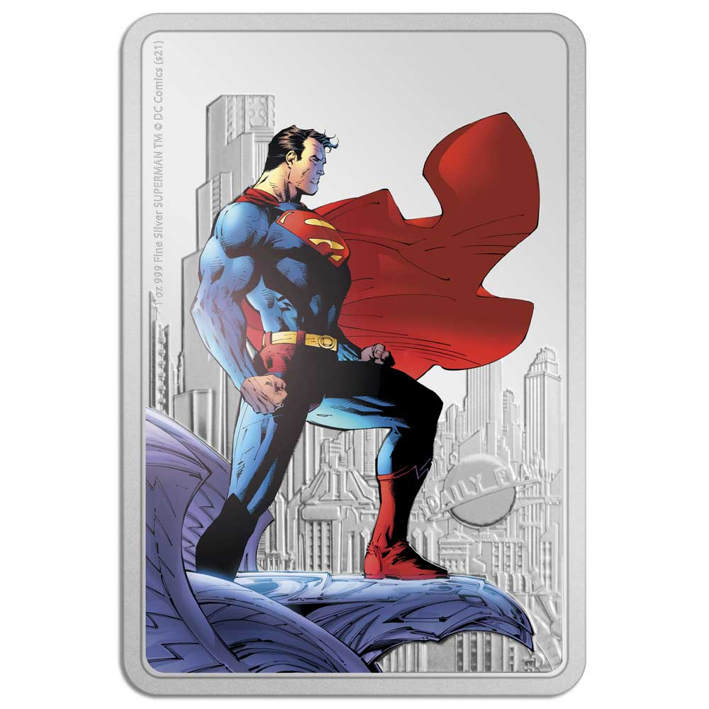 SUPERMAN™ - THE MAN OF STEEL 2021 Niue 1oz Silver Coin