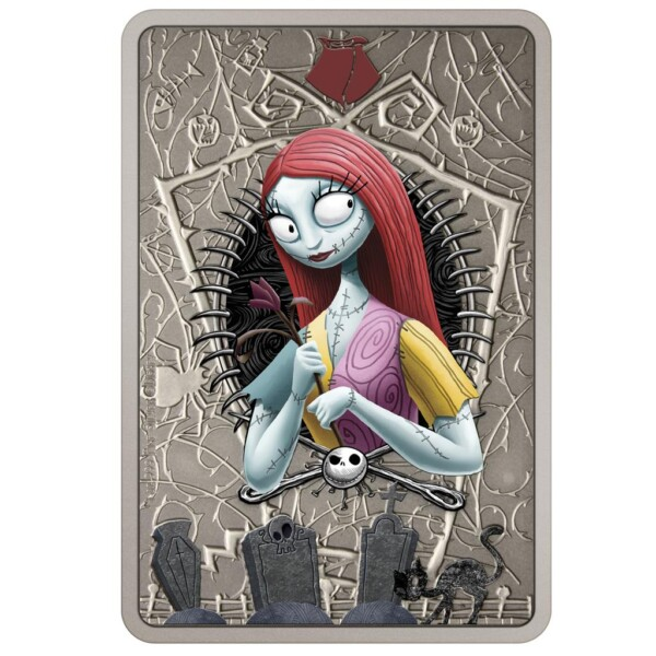 THE NIGHTMARE BEFORE CHRISTMAS - SALLY 2021 Niue 1oz Silver Coin