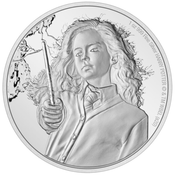 HARRY POTTER: HERMIONE GRANGER 2021 Niue 1oz silver coin