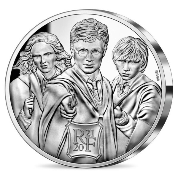 HARRY POTTER 2021 France 50€ Proof Silver Coin