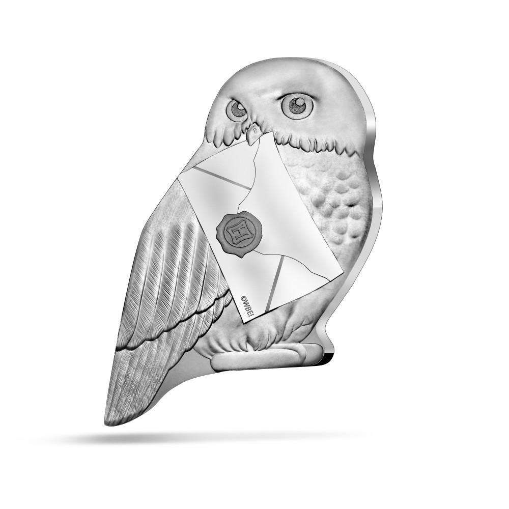 HARRY POTTER - HEDWIG 2021 France 10€ Proof Silver Coin