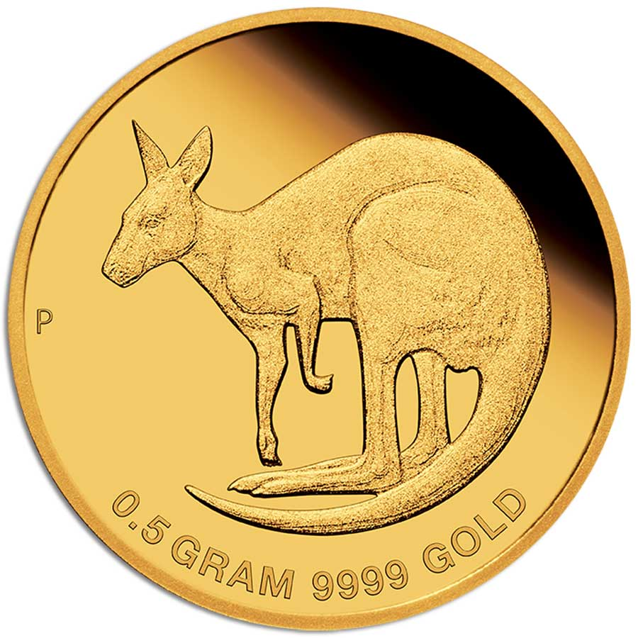 MINI ROO 2021 Australia 0.5g gold coin