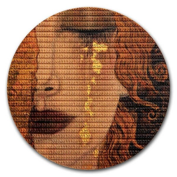 MATRIX ART - GUSTAV KLIMT GOLDEN TEARS 2020 Niue 3oz silver coin