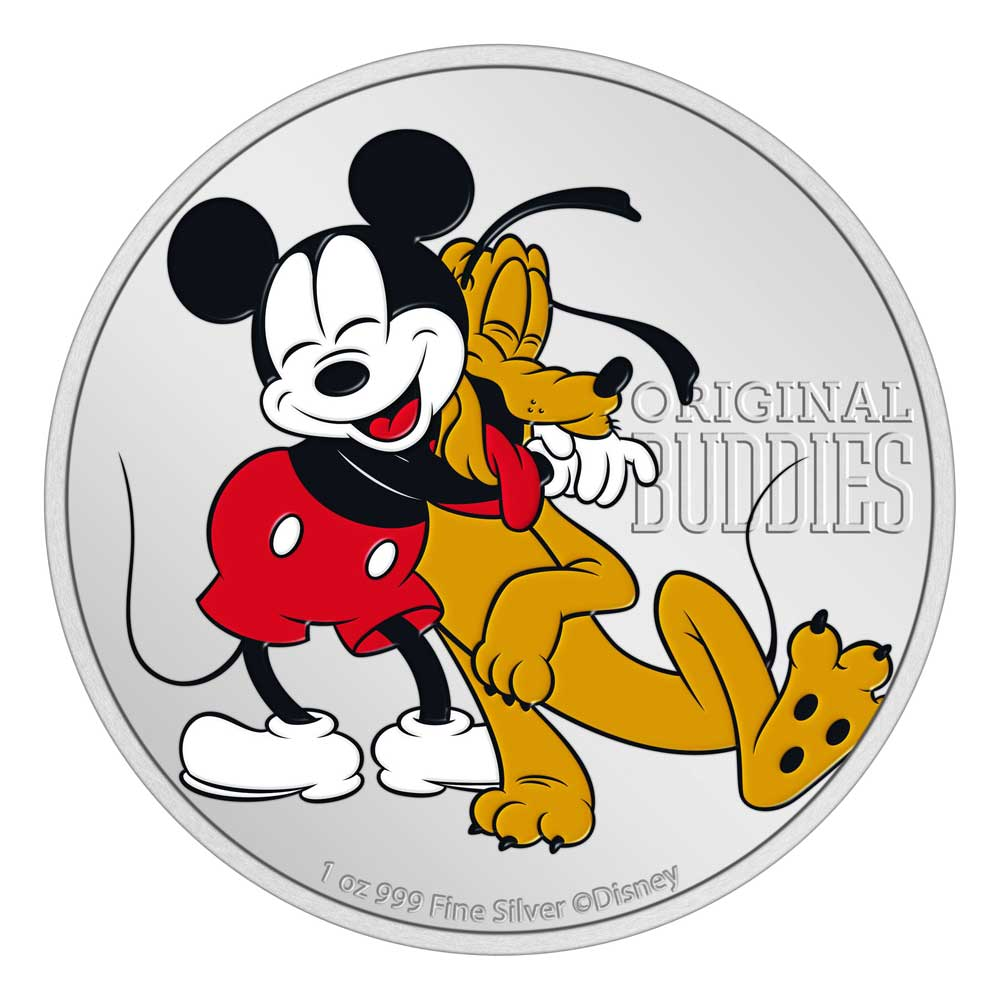 DISNEY™ - PLUTO™ - 90th Anniversary 2020 Niue1oz Proof Silver Coin